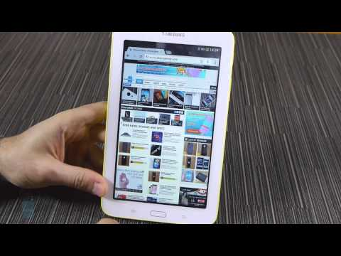 Mở Hộp và Trải Nghiệm Samsung Galaxy Tab 3 Lite