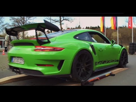 2019 Porsche 911 GT3 RS Nurburgring Lap Highlights