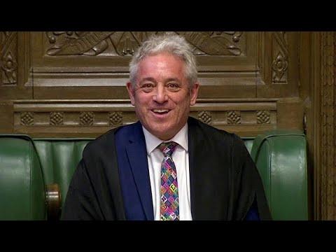 Großbritannien: Rücktritt von Parlamentssprecher John ...