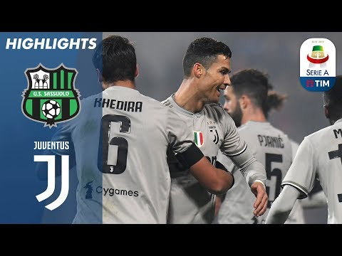 Sassuolo 0-3 Juventus | Ronaldo on Target as Champions Go 11 Points Clear | Serie A