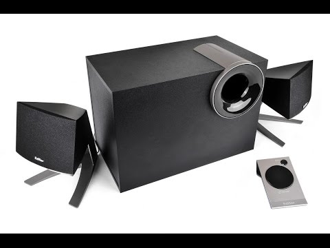 Unboxing af EDIFER M1380 2 1 AUDIO SPEAKER SYSTEM (видео)