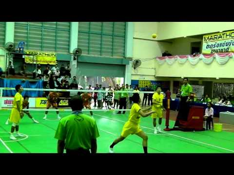Chonburigames 2010 Sepaktakraw semi-final 2