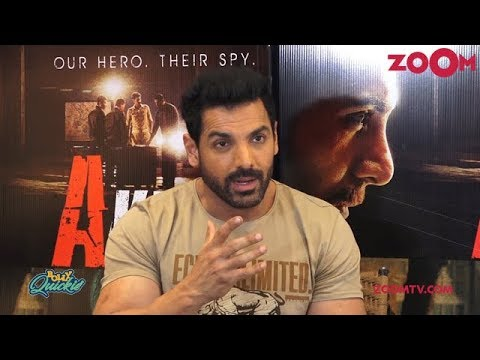 John Abraham shares details about his film Romeo Akbar Walter & his transformation | Bolly Quickie