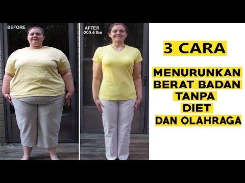 Cara Menurunkan Berat Badan Tanpa Diet/Olahraga