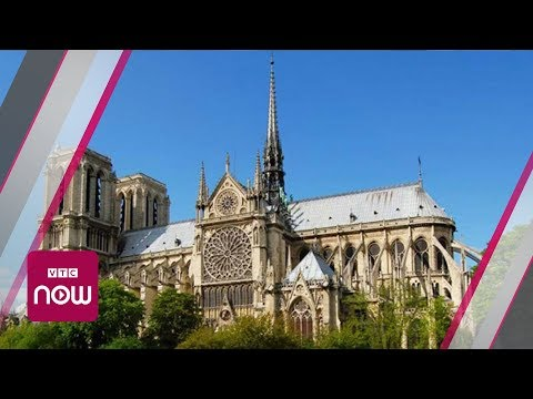 Vẻ đẹp Nhà thờ Đức Bà Paris trước hỏa hoạn | VTC Now - Thời lượng: 1:45.