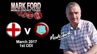 England v West Indies Cricket 3rd March 2017 1st ODI