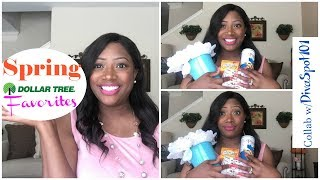 Hey Family!Today's video  is all about Spring Favorites, not just any favorites....Dollar Tree favorites!I am teaming up with my friend Taya over at TheDivaSpot101. Please visit her channel and tell her I sent you. Here is the link:https://www.youtube.com/user/TheDivaSpot101Bath Bomb DIYhttps://www.youtube.com/watch?v=51f1Q...I hope you enjoy and subscribe!---MissFeMariePLEASE SUBSCRIBEI would LOVE to have you a part of the FeMarie familyLET'S SOCIALIZE!INSTAGRAM: @miss_femarieSNAPCHAT: @missfemarie3All business inquiries: feliciacole71@gmail.com