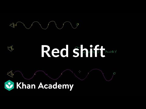 Redshift - Learn more: http://www.khanacademy.org/video?v=mx2M_ZKXM_c Red Shift.
