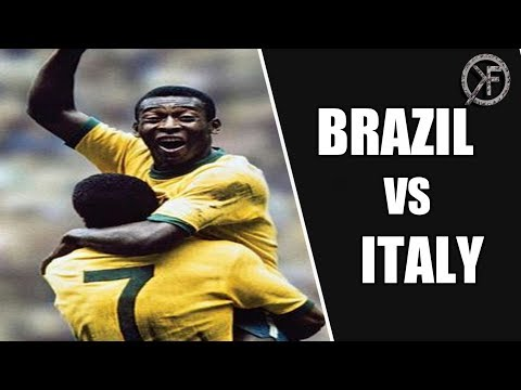 Brazil Vs Italy✔️4-1✔️ 1970 World Cup Final✔️