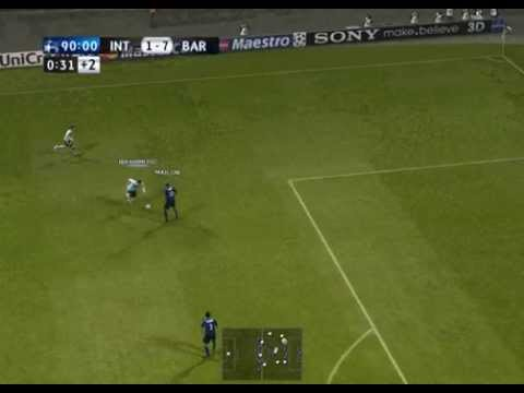 Alaann @ Pes 2011 Uefa Champions League Final Barcelona-Inter 7-1 @ F.C Barcelona Campeon