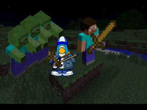 Club Penguin Meets Minecraft 2: The Key to Survival