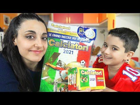 MEGA STARTER PACK CALCIATORI PANINI 2020-21 - Spacchetto con mamma *Album figurine + intero box*