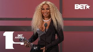 Mary J. Blige Receives Lifetime Achievement Award! | BET Awards 2019