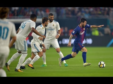 Real Madrid 2-3 Barcelona [HD] Goles | Amistoso 2017 | Miami