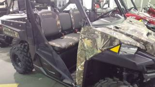 4. 2017 Polaris Ranger XP 1000 Hunter Edition