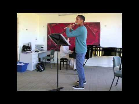 Mouquet La Flute du Pan 1st Movement (видео)