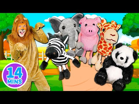 Video Animals Finger Family Song - Mega Finger Family Collection Part 2! Learn to count with the animals download in MP3, 3GP, MP4, WEBM, AVI, FLV January 2017