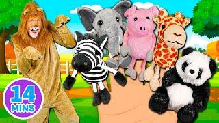 Animals Finger Family | Full Episode - Mega Finger Family Animals Collection 🐾