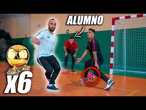 RICARDINHO ME ENSEÑA EL SECRETO DE SUS REGATES - Futsal & Fútbol Calle