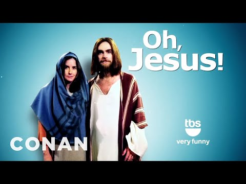 Jesus - A scrap of ancient papyrus suggests Jesus had a wife, but Conan's got even more convincing proof. More CONAN @ http://teamcoco.com/video Team Coco is the off...
