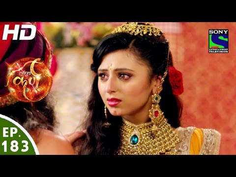 Suryaputra Karn - सूर्यपुत्र कर्ण - Episode 183 - 7th March, 2016