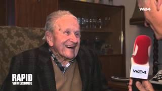 Otto Filipsky – der vielleicht älteste Rapid-Fan!