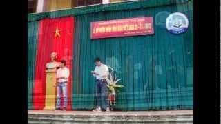 Chương trình văn nghệ 20-11,năm học 2012-2013 - Chuyên Thái Bình