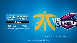 fnatic vs Winstrike, game 1