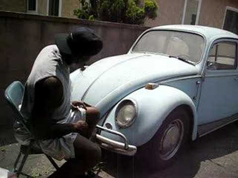 Kevin Garnett asking VW bug,can they beat Kobe and Lakers