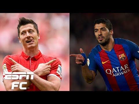 Which striker would you pick in their prime: Robert Lewandowski or Luis Suarez? | Extra Time