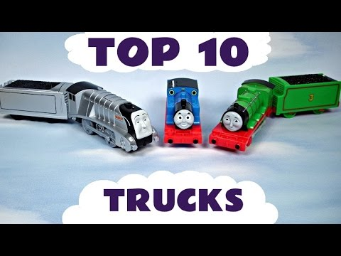 friends - These are our favourite Thomas and Friends trucks / cars put in Top 10 order. They turned out to be a mixture of Trackmaster Tomy and Plarail trucks and cars. It was difficult cutting the...