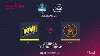 Na`Vi vs ENCE - ESL One Cologne 2018 - map1 - de_dust2 [Enkanis, ceh9]