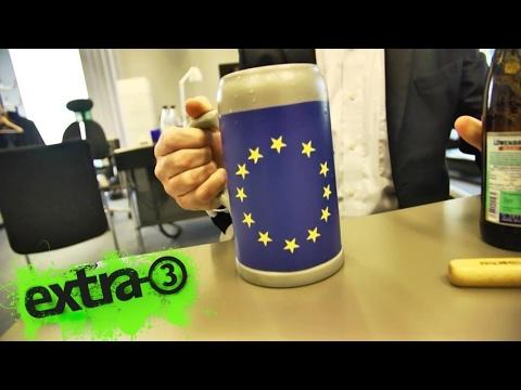 Realer Irrsinn: EU-Richtlinie für Steinkrüge   | extra 3 | NDR