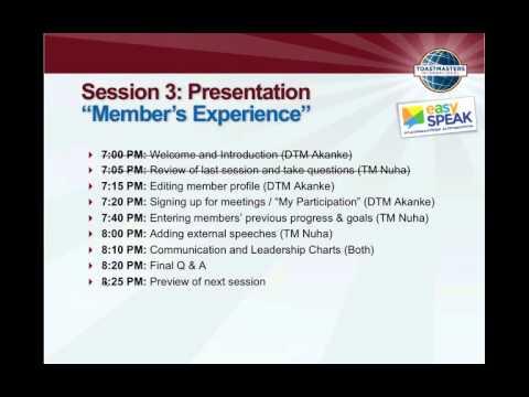 easy-Speak Up Close! Session 3