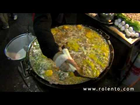 Taiwanese Street Food - Oyster Omelettes