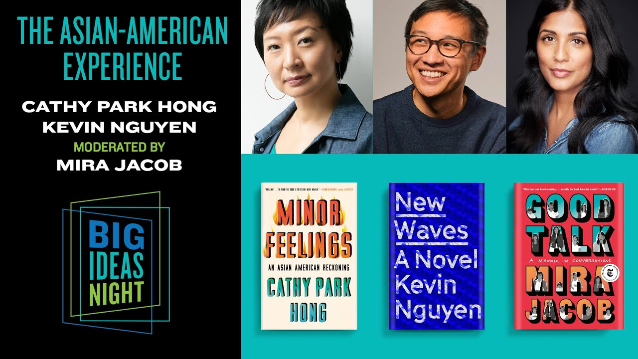 In conversation: Authors Mira Jacob, Kevin Nguyen, and Cathy Park on The Asian American Experience