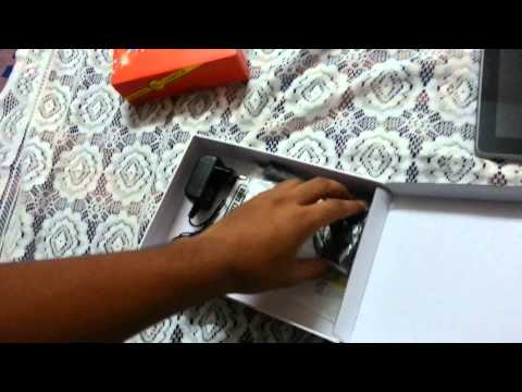 UNBOXING HCL ME TABLET CONNECT 2G V1