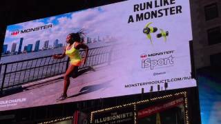 Nicole Chaplin, Hits NYC Times Square Billboard
