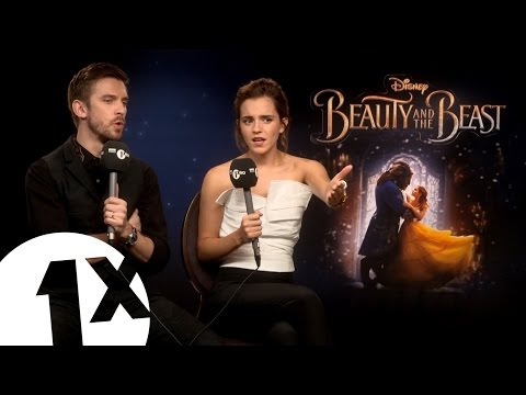Emma Watson & Dan Stevens play Beauty or Beast? (видео)