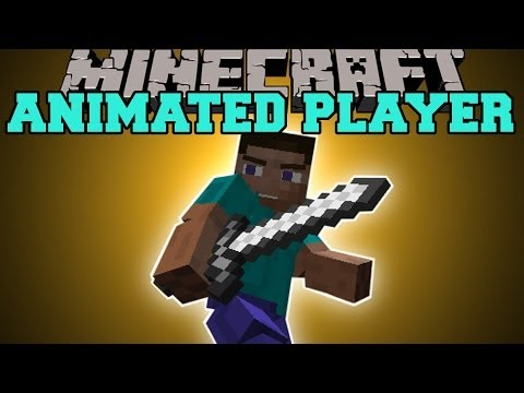 Cool Animations Minecraft Minecraft Animated Player