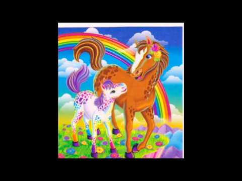 Ponies And Balloons-Lisa Frank