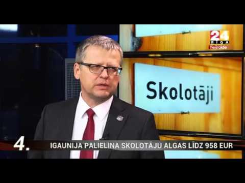 """Veselības ministra Dr. Gunta Belēviča intervija TV24 """"Ziņu Top 5"""""""