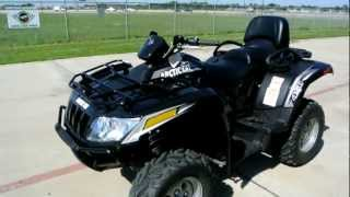 8. Review: 2012 Arctic Cat TRV 450I Two Rider ATV