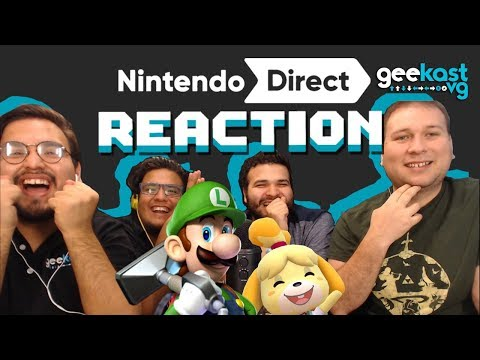 NINTENDO DIRECT 9.13.2018 | REACCIÓN