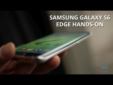 Samsung Galaxy S6 Edge hands-on