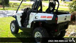 10. 2015 Can-Am Commander XT 1000 Pearl White  - Action Power...