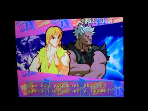 Geotel Note - Mame4All · Marvel Super Heroes vs Street Fighter