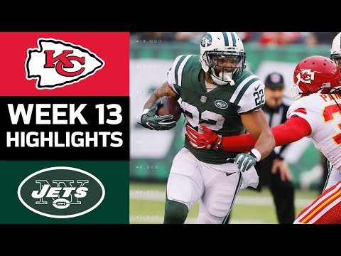 Video: Chiefs vs. Jets | NFL Week 13 Game Highlights