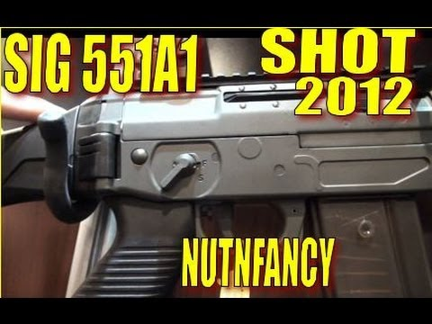 Video NUTNFANCY SHOT 2012: The Sig 551A1 Quick Look download in MP3, 3GP, MP4, WEBM, AVI, FLV January 2017
