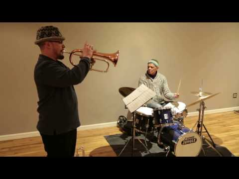 Ras Moshe, Matt Lavelle, Charles Downs - at Brooklyn Commons - Dec 11 2014